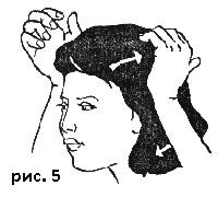 Массаж способствует росту волос