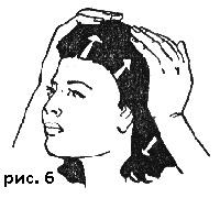 Массаж головы - профилактика выпадения волос